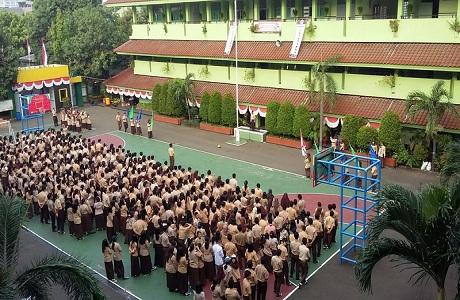 Upacara Pramuka SMA Negeri 26
